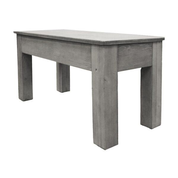 """36"""" Silver Mist Billiard Bench"""