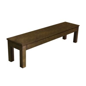"76 Cappuccino Billiard Storage Bench 300x300 - 76"" Cappuccino Billiard Storage Bench"