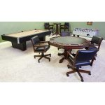C.L. Bailey 54″ Game Table Set