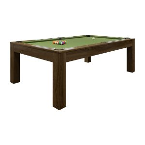 Penelope II Pool Table - Cappuccino Finish