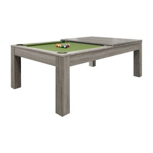 Penelope II Pool Table - Silver Mist Finish