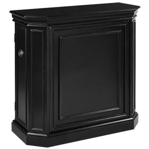 Game Room Bar w Spindle Black
