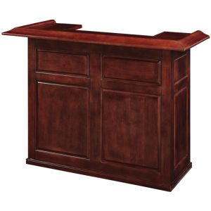 Game Room Home Bar 60″ English Tudor