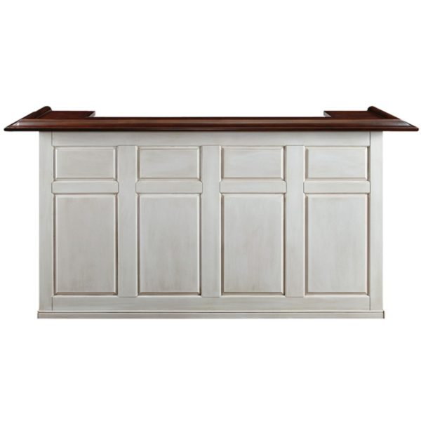 "Game Room Home Bar 84"" Antique White"