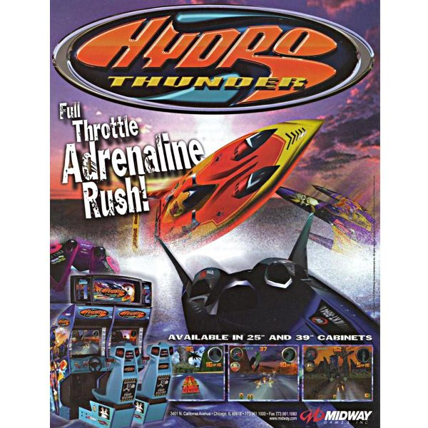 Hydro Thunder Flyer