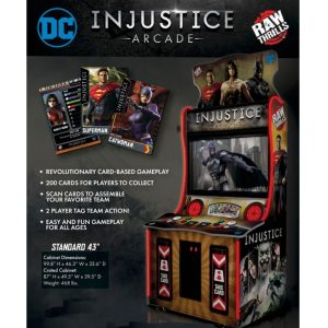Injustice Arcade Flyer 300x300 - DC Injustice Arcade