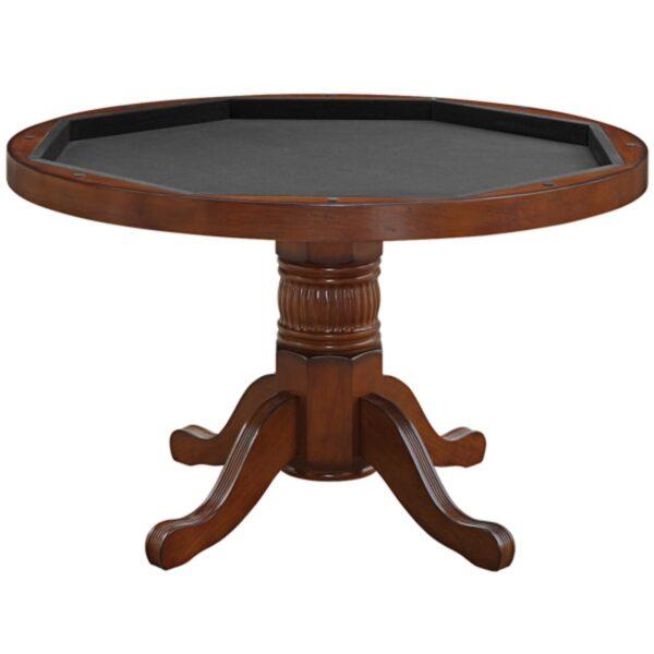 """Poker Table 48"""" Chestnut"""