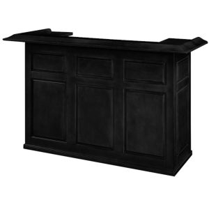 RAM Game Room Home Bar 72 Inch Black