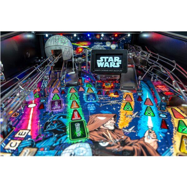 Star Wars Comic Premium Pinball Machine