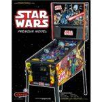 Star Wars Comic Premium Pinball Flyer