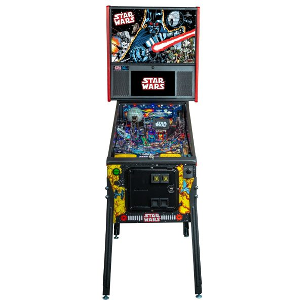 Star Wars Comic Premium Pinball Front