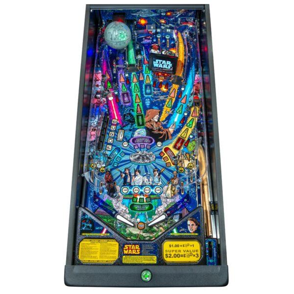 Star Wars Comic Pro Pinball Playfield