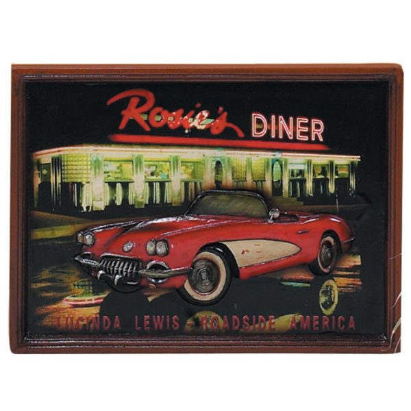 50s Themed Corvette Wall Art