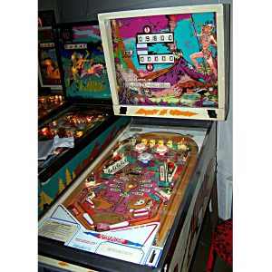Jungle Queen Pinball Machine