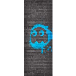 Pac-Man Blue Ghost Tapestry - Inky