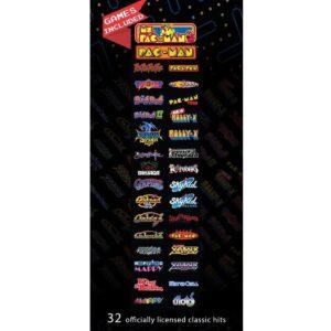 Pac-Man Pixel Bash Home Cabaret Games