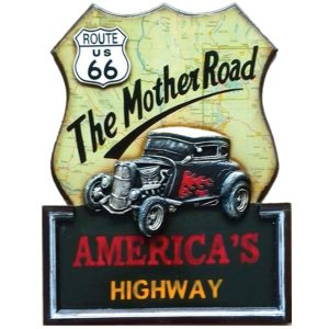 Route 66 The Mother Road Wall Art