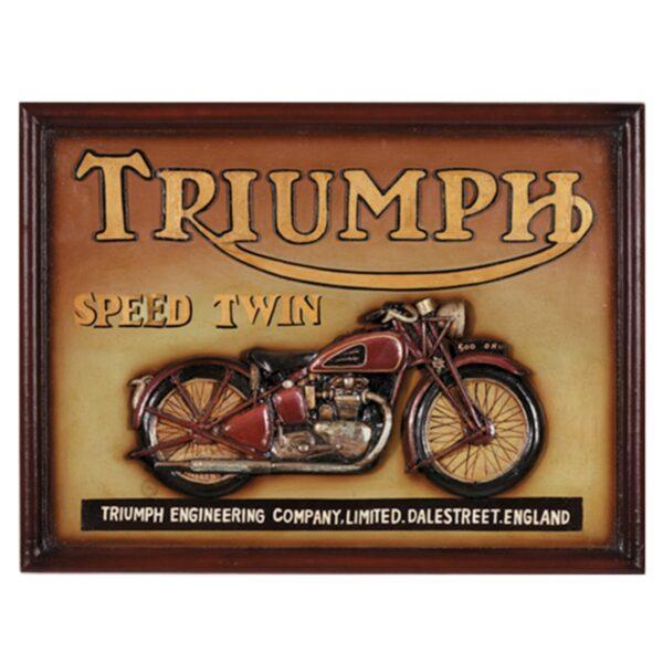 Triumph Motorcycle Wall Art