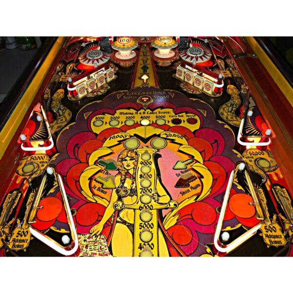 Mata Hari Pinball Machine by Bally