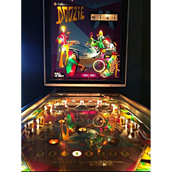 Doozie Pinball Machine 1
