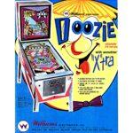 Doozie Pinball Machine Flyer