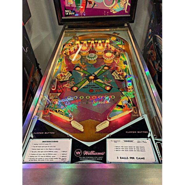 Doozie Pinball Machine For Sale Tampa 2
