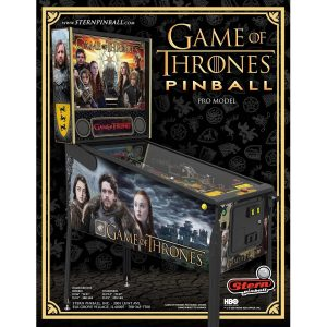 Game of Thrones Pro Pinball Flyer 1