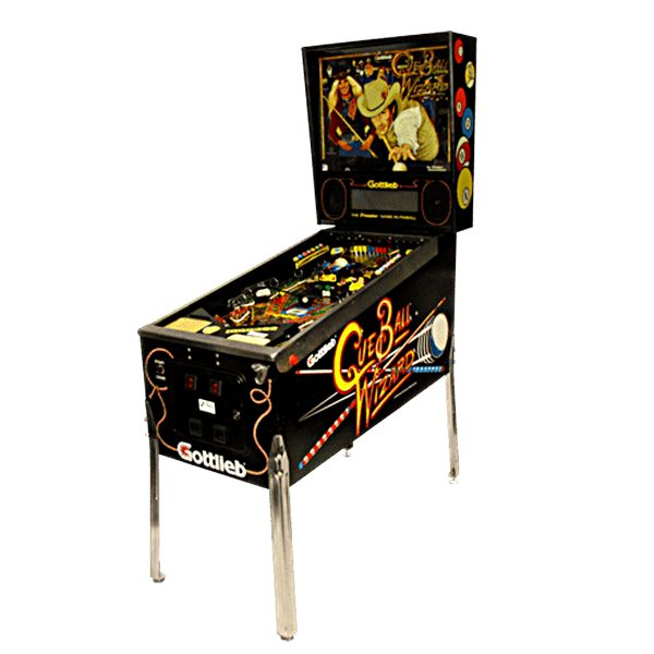 Cue Ball Wizard Pinball Machine