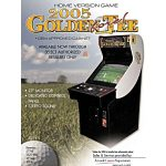 Golden Tee 2005 Arcade Flyer