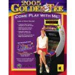 Golden Tee 2005 Arcade Flyer 2