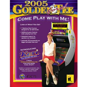 Golden Tee 2005 Arcade Flyer 2