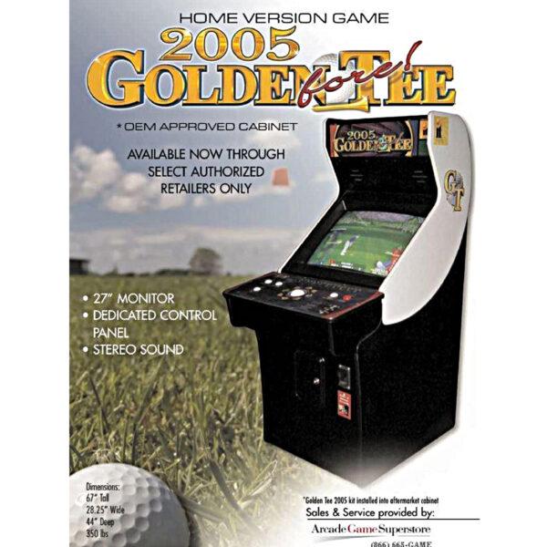 Golden Tee 2005 Arcade
