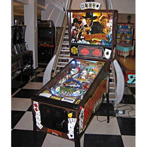 Maverick Pinball Machine by Data East