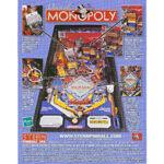 Monopoly Pinball Machine Flyer 2