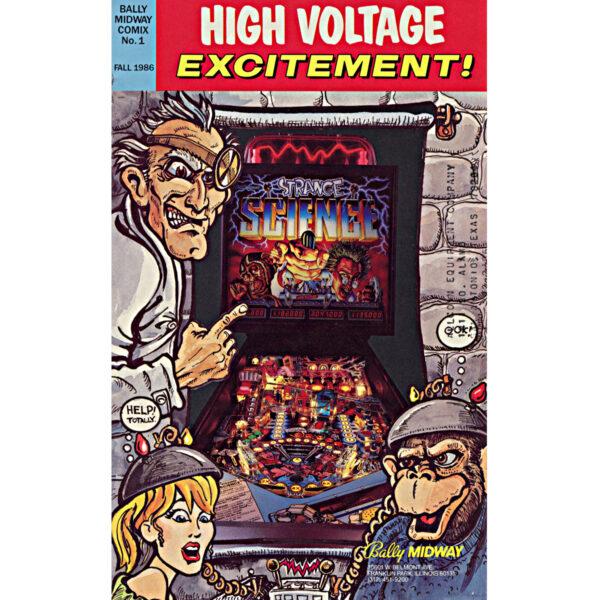 Strange Science Pinball Machine