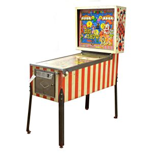 Big Show Pinball Machine by Bally