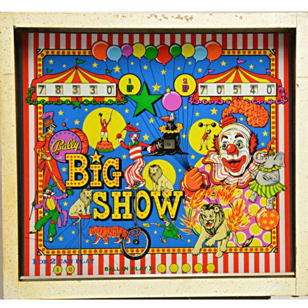 Big Show Pinball Machine 2 600x600 - Big Show Pinball Machine