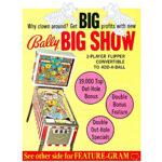 Big Show Pinball Machine 3
