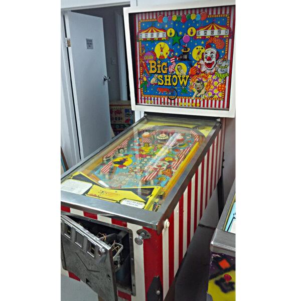 Big Show Pinball Machine 4 600x600 - Big Show Pinball Machine