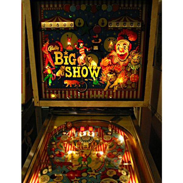 Big Show Pinball Machine 8 600x600 - Big Show Pinball Machine