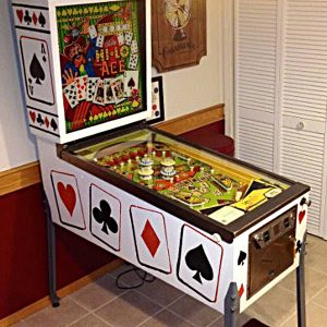 Hi-Lo Aces Pinball Machine