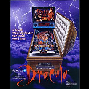 Dracula Pinball Machine