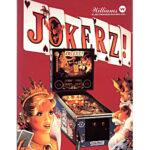 Jokerz! Pinball Machine Flyer 2