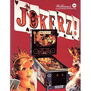 Jokerz! Pinball Machine