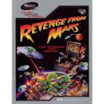 Revenge From Mars Pinball Machine Flyer