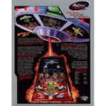 Revenge From Mars Pinball Machine Flyer 2