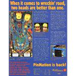 Road Show Pinball Machine Flyer 1