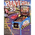 Road Show Pinball Machine Flyer 2
