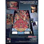 Terminator 3 Pinball Machine Flyer 2