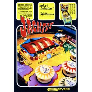 Jackpot Pinball Machine Flyer